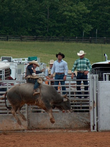 Oak Ridge Farm Bull Riding Event