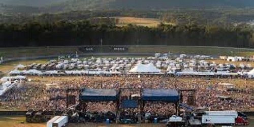 Lockn' Festival on the Oak Ridge Track