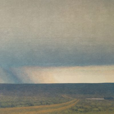 Russell Chatham, Storm Across the Prairie