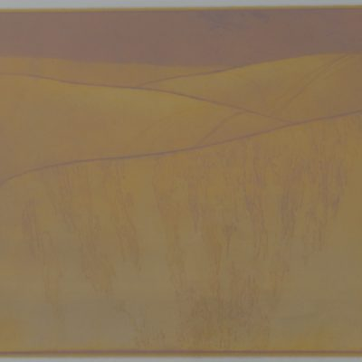 Bruce McCurdy, Oceano Dunes, lithograph, 2009.1.1