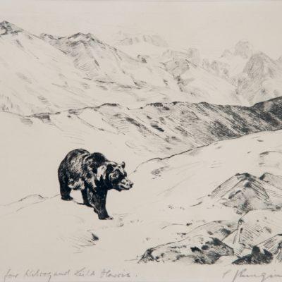 Carl Rungius, An Old Prospector, print, 2004.1.1