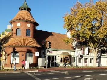 Our current location, Solvang