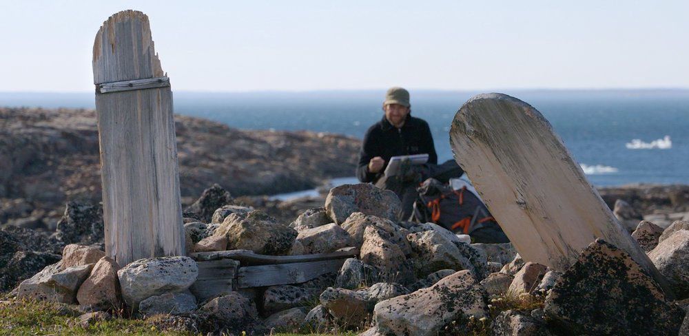 ITA-Awakening, Skecthing Graves, Harbour Islands, Nunavut, Cory Trepanier@2015.jpg