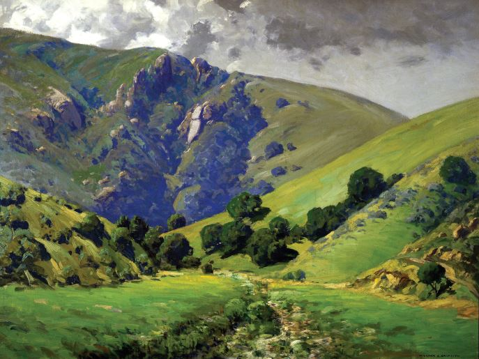 William Griffith, In Laguna Canyon. The Irvine Museum.