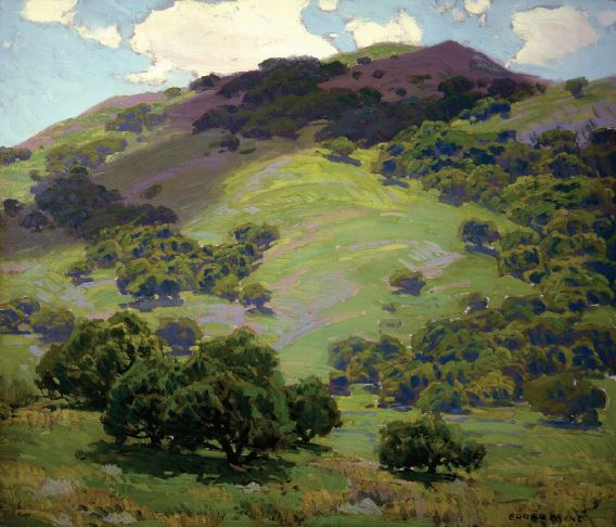 Edgar Payne, Capistrano Canyon. Private Collection, Courtesy of The Irvine Museum.