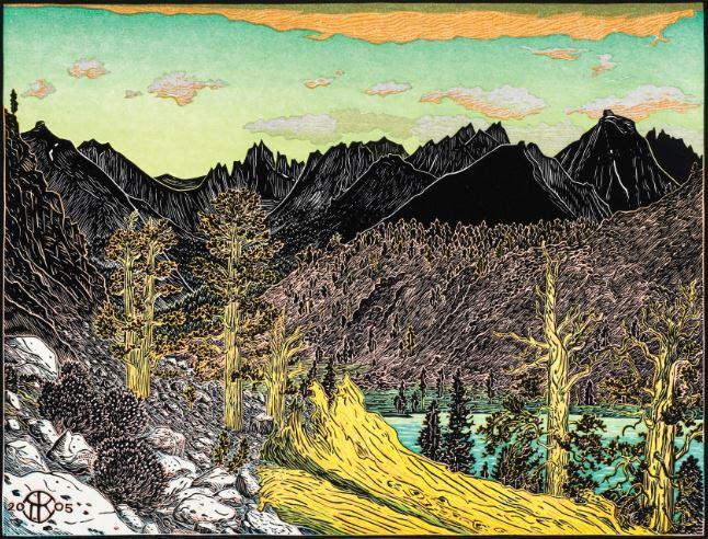 Center of Foxtail Pine World Triptych.JPG