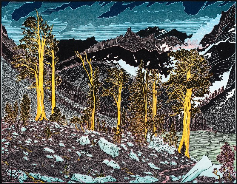 Left of Foxtail Pine World Triptych.JPG