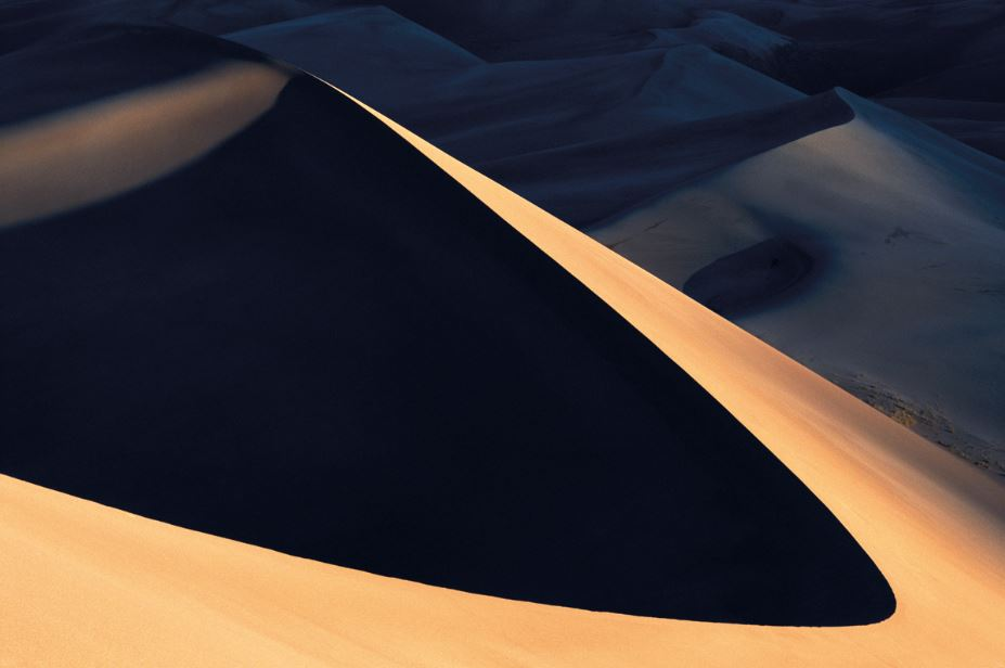 Sunrise and Star Dune
