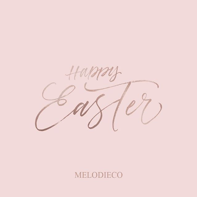 Happy Easter everyone 🐣 🐰 💕 ✝️ If you don't celebrate, have a wonderful relaxing Sunday! . . . . . . . #happyeaster #easter #heisrisen #heisrisenindeed #graphicdesigner #branddevelopment #designoftheday #rosegold #bossbabe #bossbabes #businessbabe #entrepeneurlifestyle #girlboss #getsocial #discoverunder5k #onmydesk #whereiwork #womenempowerment #womensupportwomen #womanpower #instantbossclub #smallbiz #etsywinnipeg #happyfriday #socialmediamanager #socialmediamarketing #melodieco