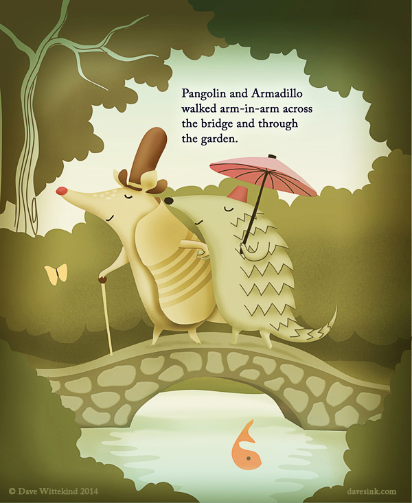 Pangolin and Armadillo