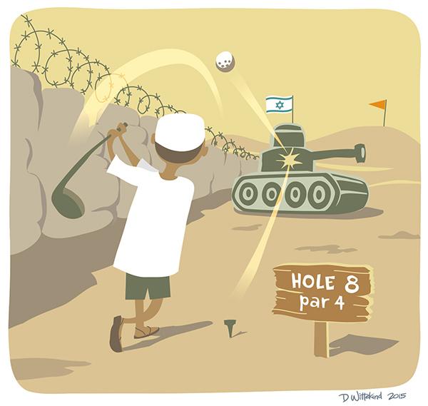 Golf in Palestine