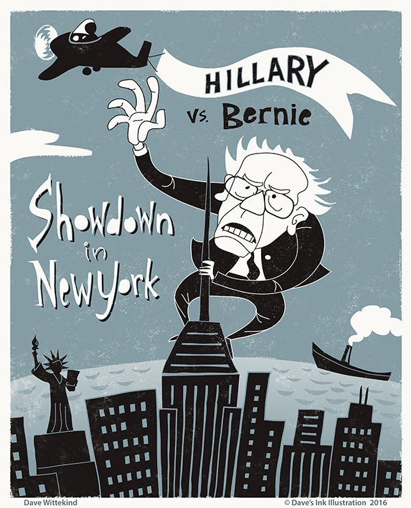Hillary vs. Bernie- Showdown in New York