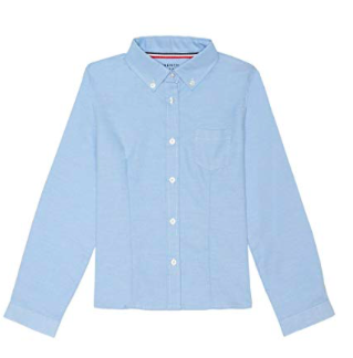 1. Baby Blue Button Down Shirt -