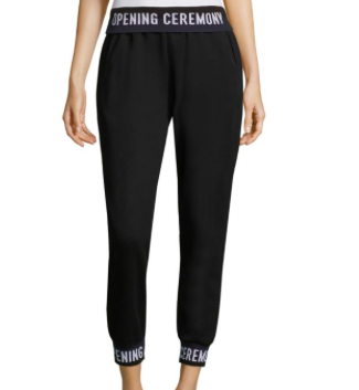 1. Opening ceremony Black Sweatpants -