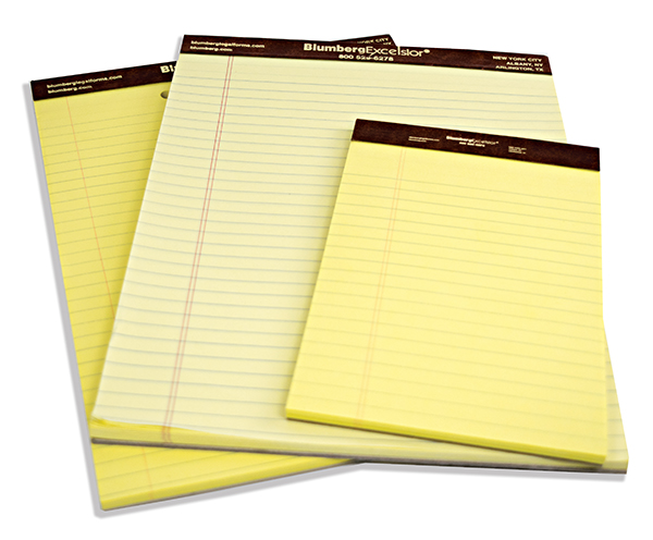 3. Legal Pads -