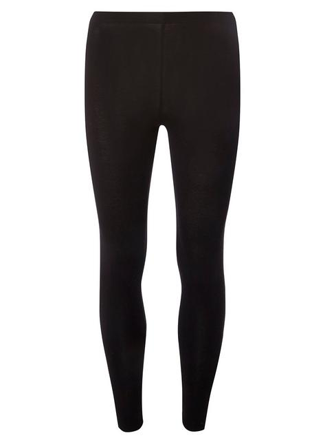 Black leggings for dance practice -