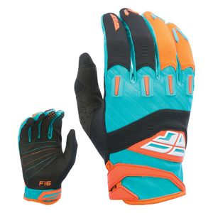 Biking gloves--he's hitting the track as soon as class is out -