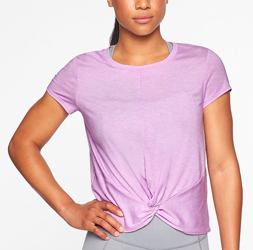 Lilac t-shirt -