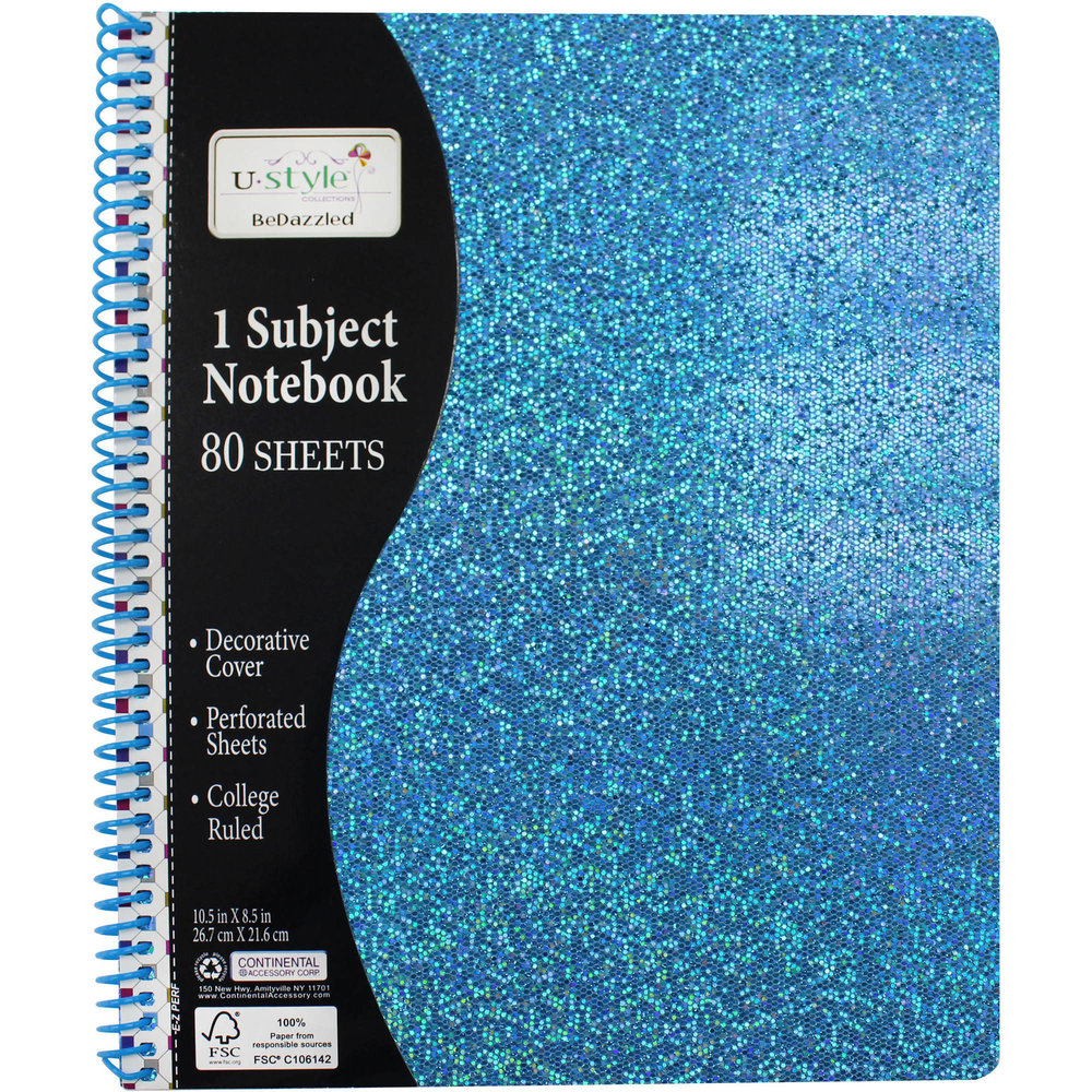 Blue Sparkle Notebook - Among dance, drama, boyfriends, and best friends, there is still school. Kayla's sparkly blue notebook is where she keeps track of her studies. Ever since the Test Test, she always wants to be prepared.