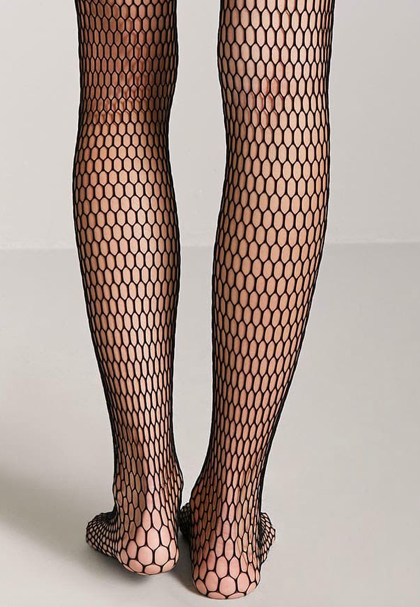 Fishnet Tights - Whether you're going against the grain or swimming upstream, make sure to take your fishnets along for the ride!
