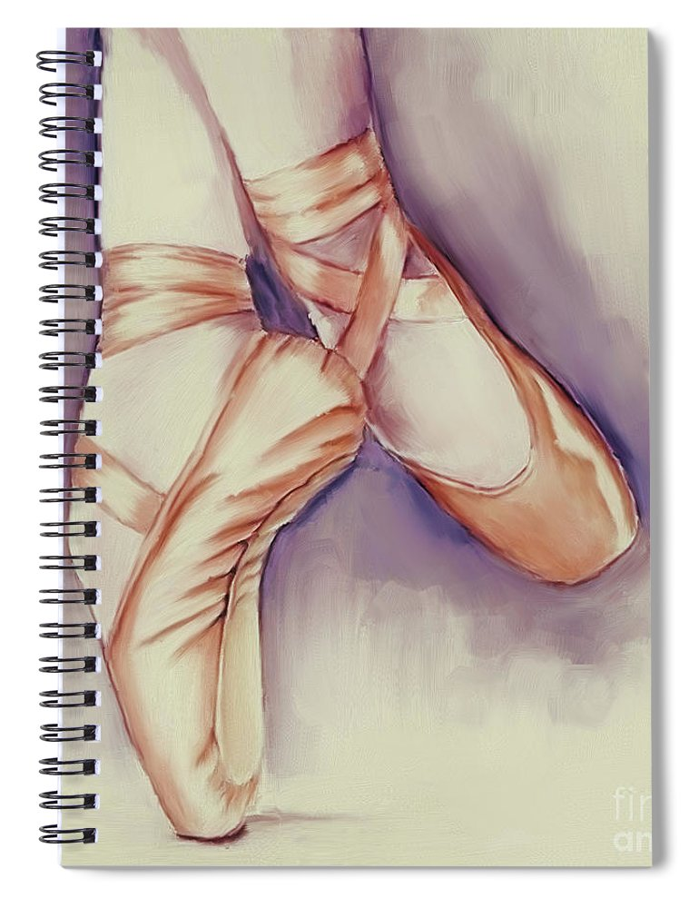 Ballerina Notebook - Paying attention in class is easier when Sabrina is reminded of her number one passion.