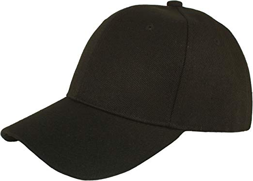 Black Baseball Cap - Required for work at Juniors, she stuffs the baseball cap in her backpack so she doesn't forget.