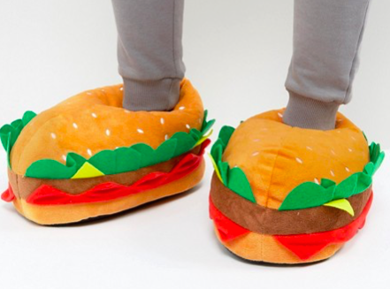Hamburger Slippers - Keep it simple, keep it goofy.