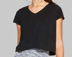 Black T-Shirt - …and a plain black T for pepper!