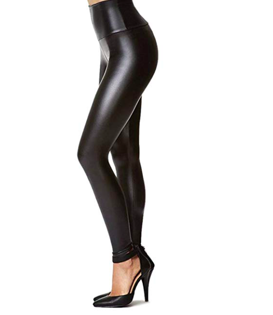 Faux Leather Pants - Abandon poodle skirts, embrace pleather!