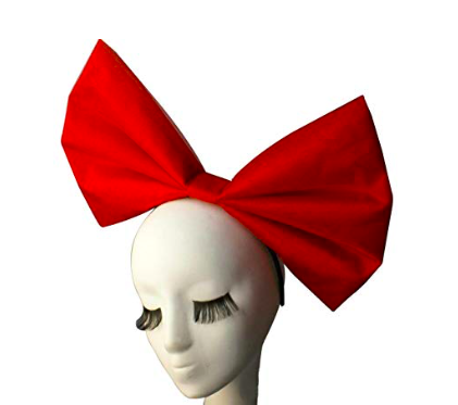 Giant Hair Bow - Sky wears giant hair bows to match her giant personality…
