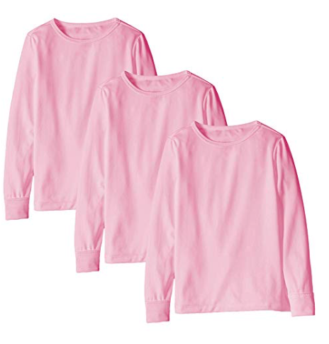 Pink Shirt - You might think the opposite of black clothes is white clothes, but ACTUALLY it's PINK CLOTHES.