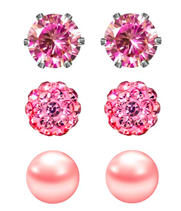 Pink Earrings - To be pretty in pink from head to toe, don't let your ears go undecorated.