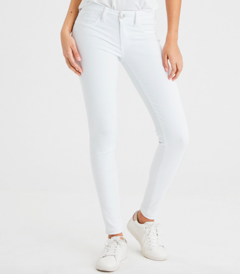 White jeans -