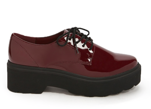 Patent leather shoes -