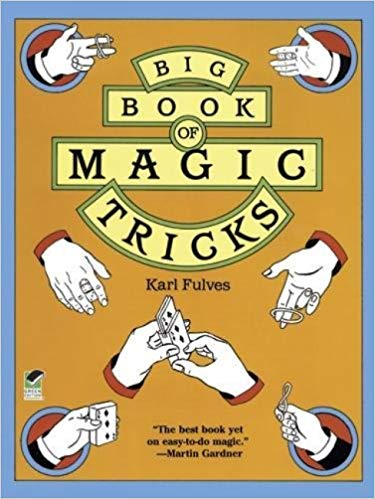 Big Book of Magic Tricks by Karl Fulves - Even when she's questioning her future as a magician, Zoe keeps this book with her because it reminds her of Cleo.
