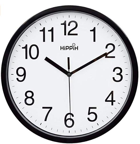 One analog clock -