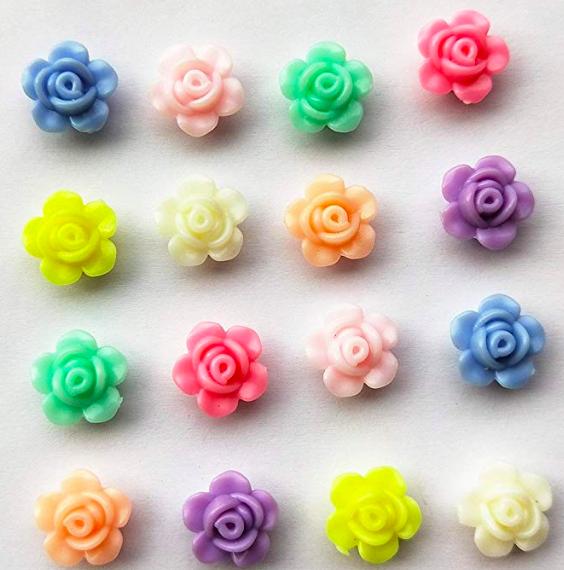 Acrylic flowers -