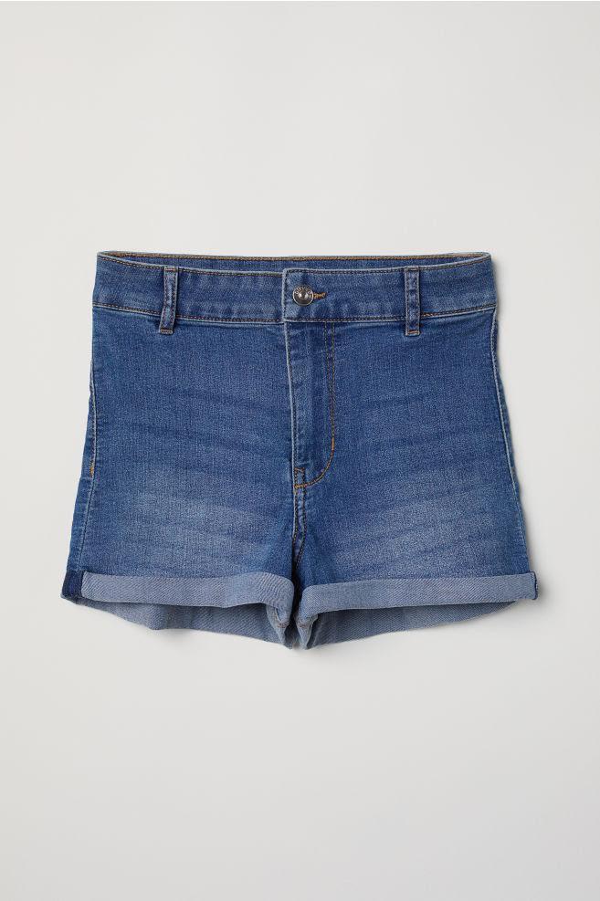 Denim shorts -