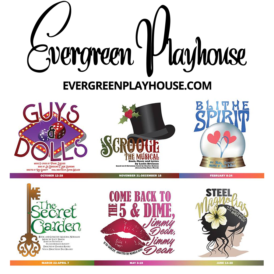 Past Productions — Evergreen Playhouse
