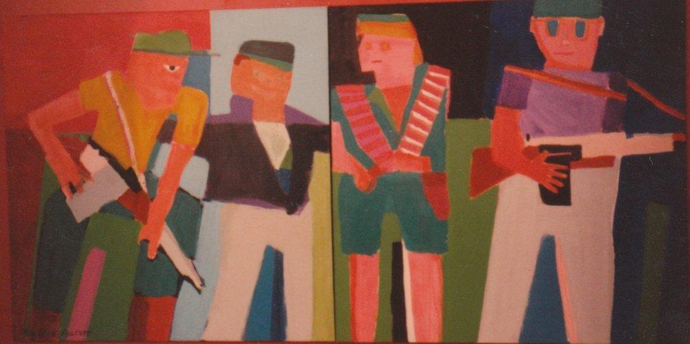 GA Art 2 Designer War 1986 4 x 8 feet, 2 panels.jpeg