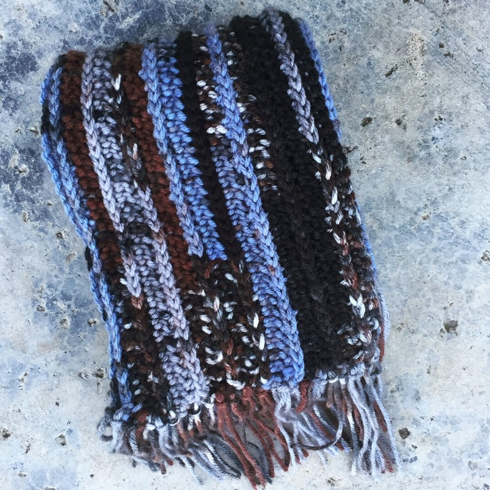 How to: Make a Fringe Scarf