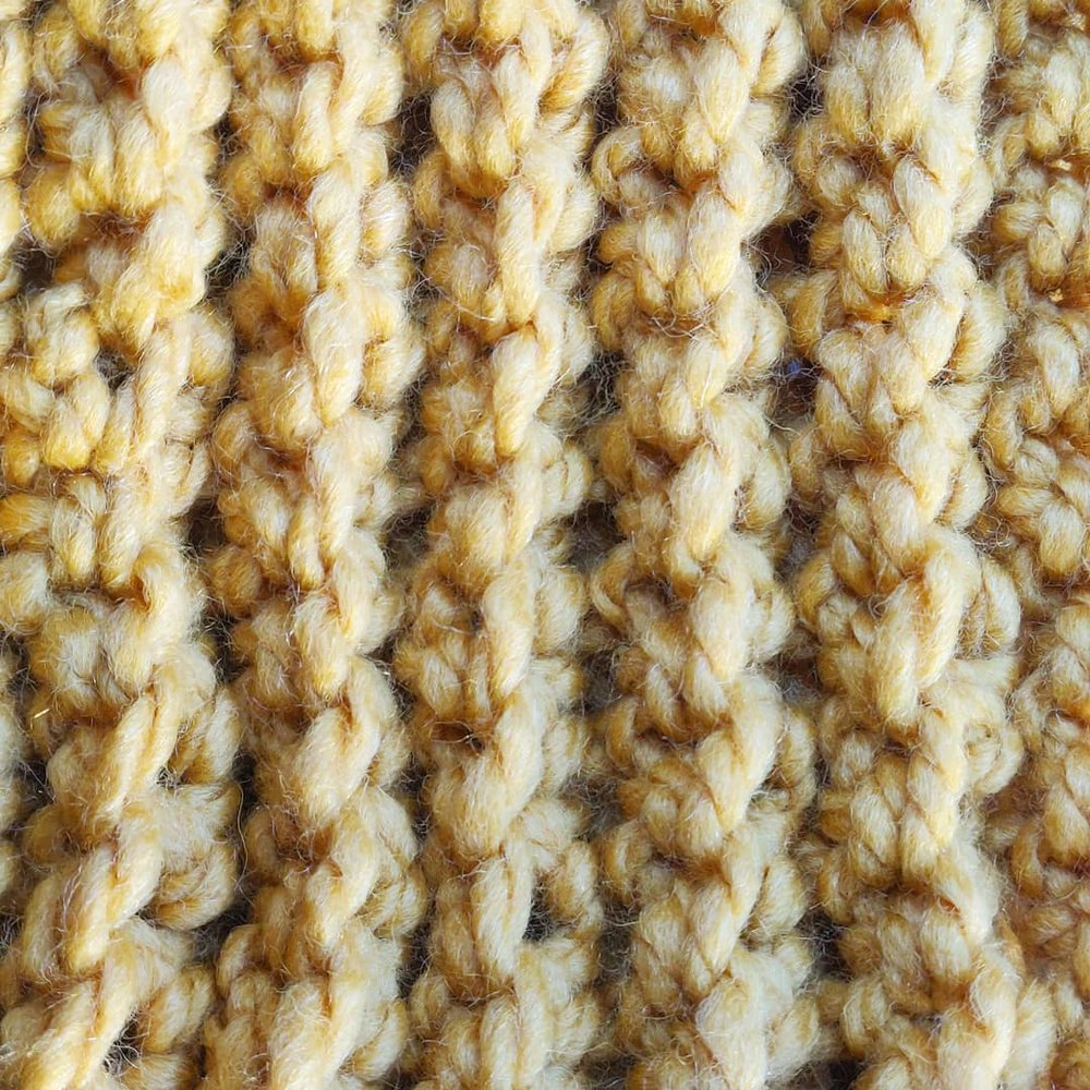 How to: Ribbed Infinity Scarf