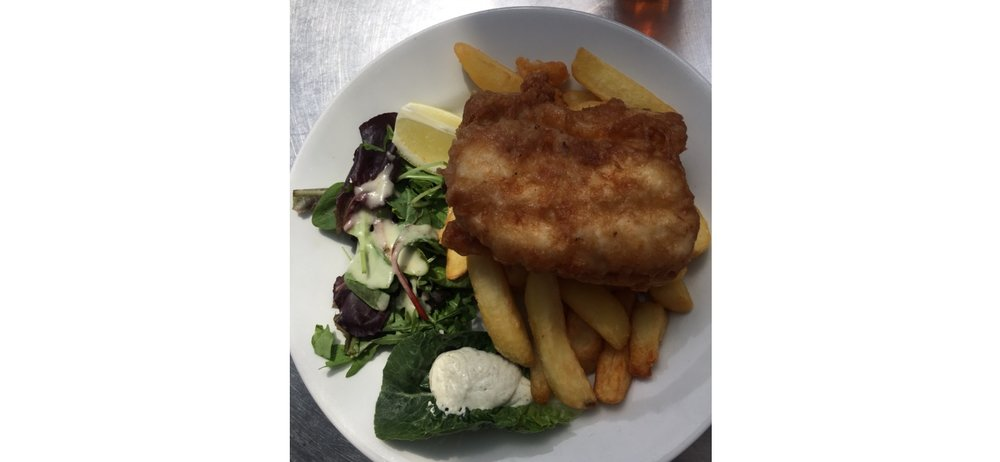 The husbands Fish and Chips