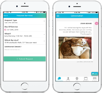 Pet Care Management through the Time to Pet App-The Perfect Pooch NYC