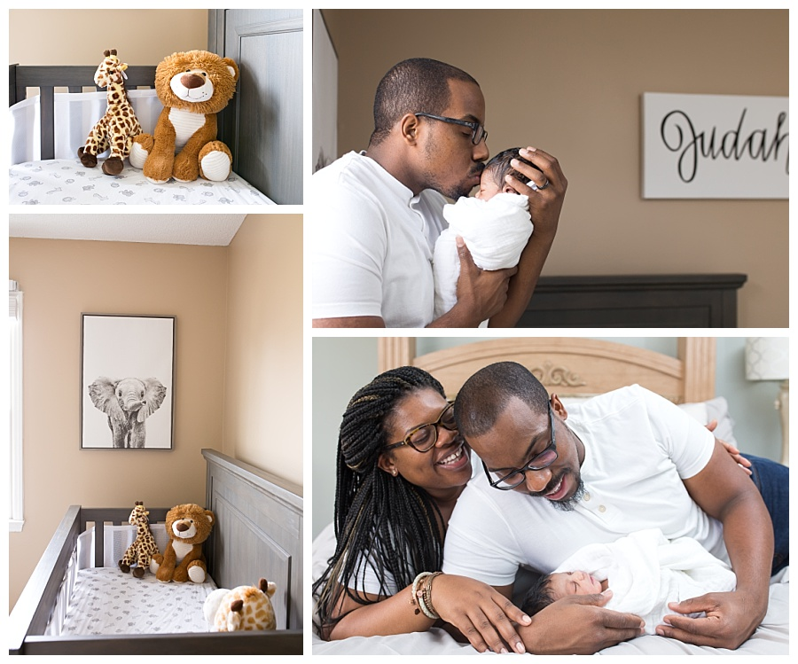 raleigh-nc-african-american-family-portraits-in-nursery