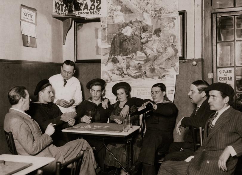 CORTÉS. Taberna del Guerrita Chico. Madrid, octubre de 1932