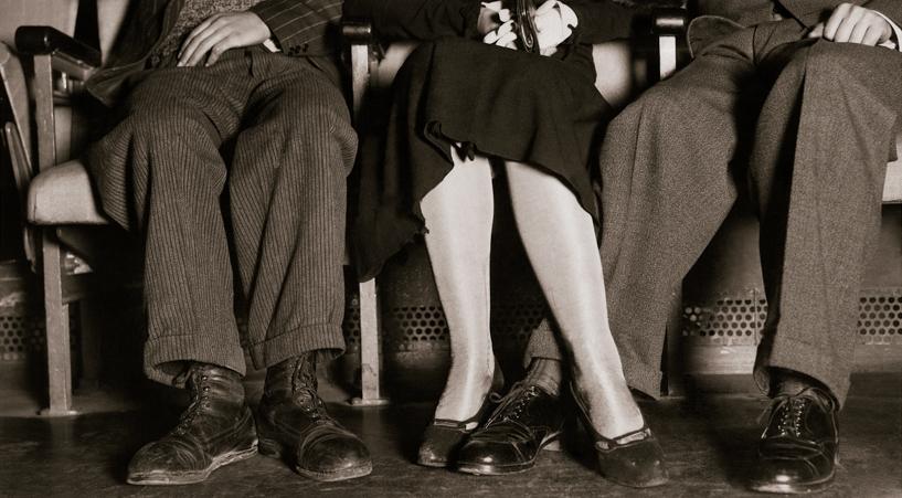 VIDEA. Escena del reportaje Confesiones de una butaca de cine de la última fila. Madrid, 1934