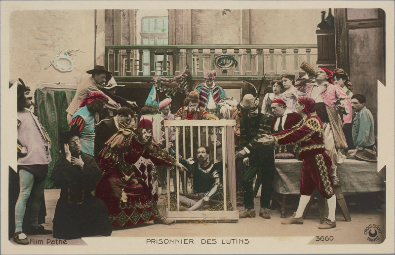 Fotograma de Les Aventures de Don Quichotte, F. Zecca et L. Nonguet.