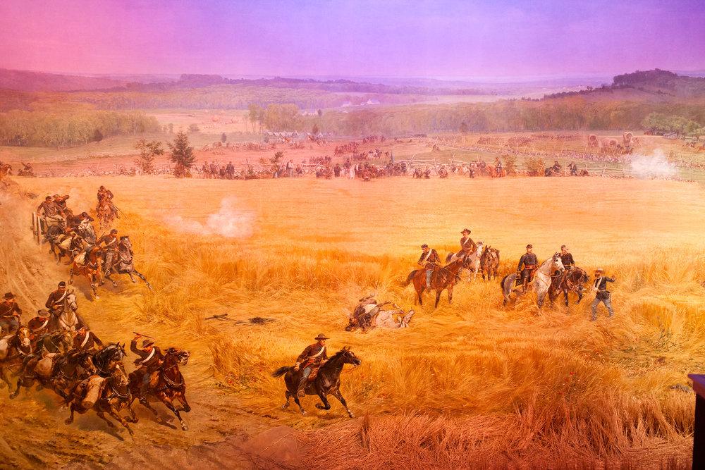 Battle of Gettysburg.