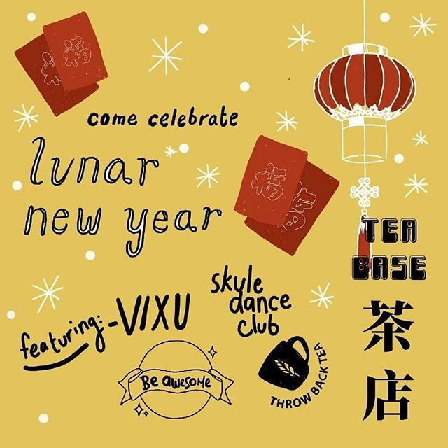 Celebrating Lunar New Years? 🎉Need some tea to digest all that food? 🍵 Come by @tea.base Sat (12-5) and Sun (12-4) where we'll be serving hot tea alongside awesome performances at the China Town Centre! 💃🏻🕺🏻 See ya there!